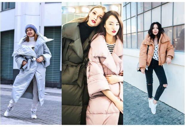 Пуховик оверсайз зима 2022 — модно или удобно? 100 новинок на зиму