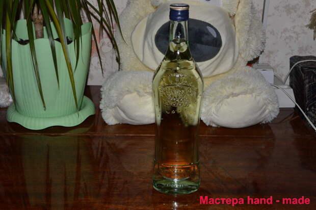 Как украсить бутылку
