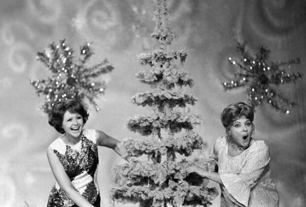 Новогодние фото советских знаменитостей