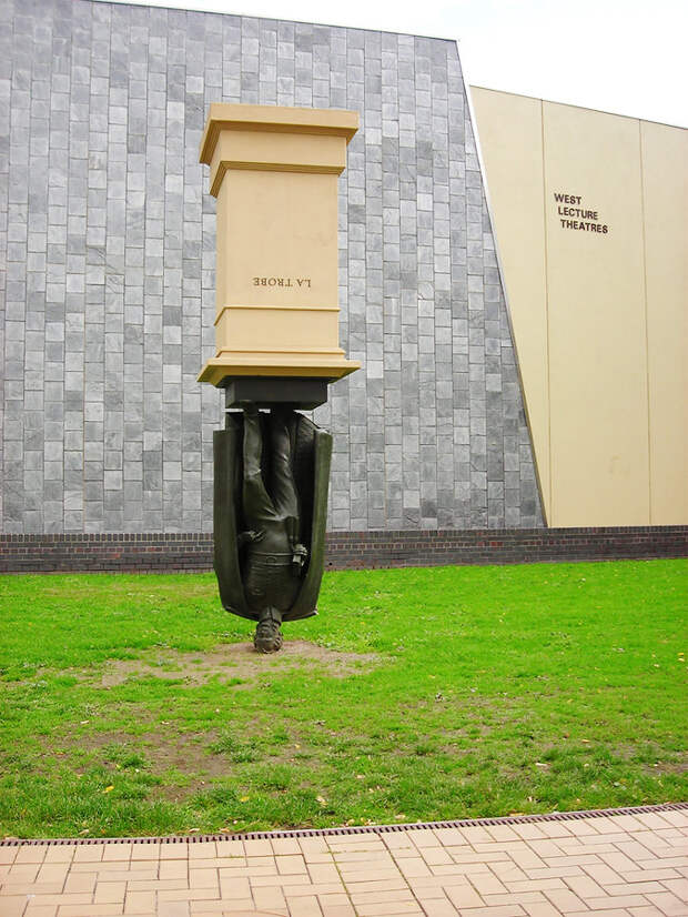 Памятник Чарлзу Ля Троубу, Мельбурн, Австралия, Австралия и Океания
