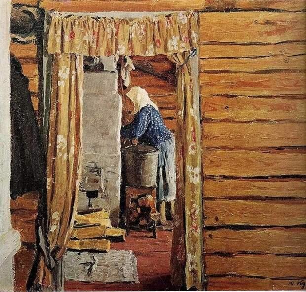Русские бабушки в живописи