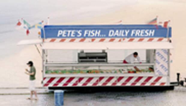 Pete's Fish : ну очень свежая рыба!