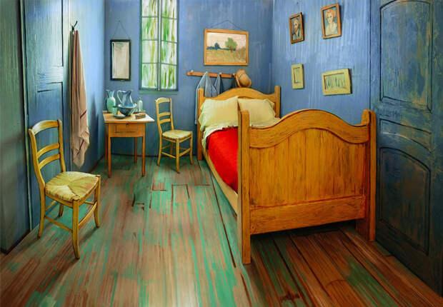 Комната Ван Гога сошла с картины