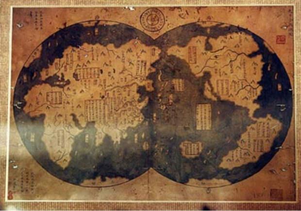 Древняя карта, Китай