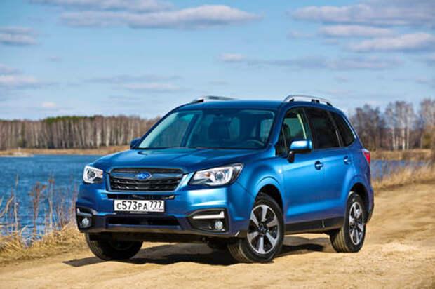 Обновленный  Subaru Forester: тише едешь...