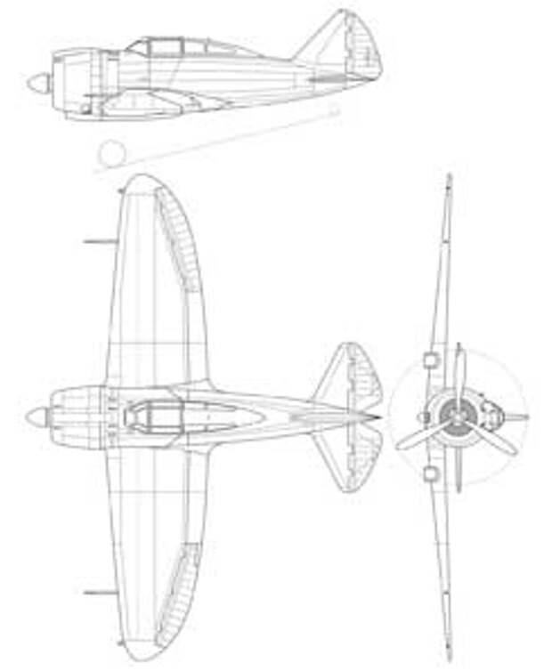 Истребитель Reggiane Re.2000