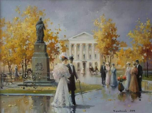 художник Владимир Краевский картины – 68