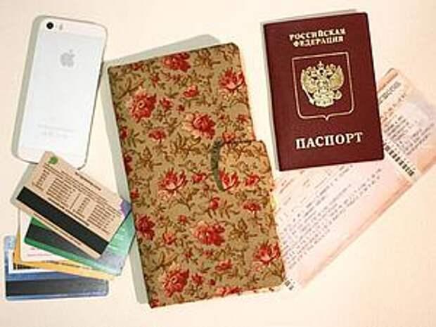 Мастерим кошелек-органайзер для документов | Ярмарка Мастеров - ручная работа, handmade