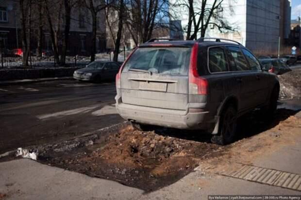 Весенние дороги России (18 фотографий), photo:16