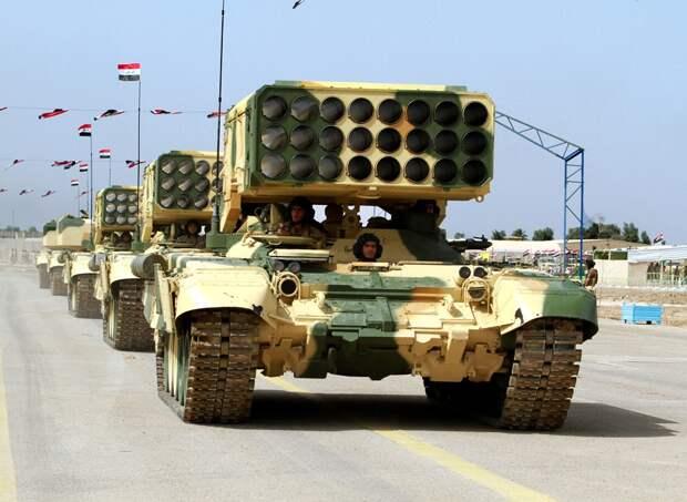 Российская военная техника вызвала фурор на параде ВС Ирака