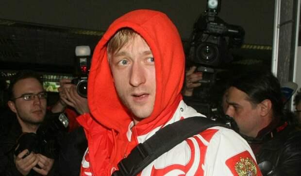 Плющенко показал старшего сына: Тоже спортсмен!