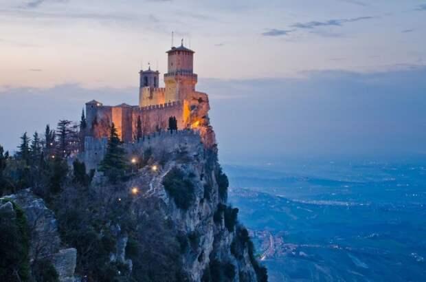 Замок Гуаита, Сан-Марино.
