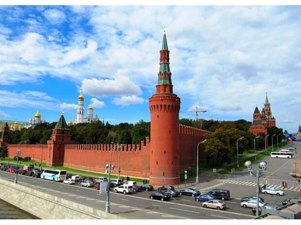 Тайны московского Кремля
