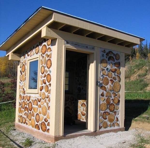 Глиночурка — оригинальная и бюджетная технология строительства дома из дров и глины.