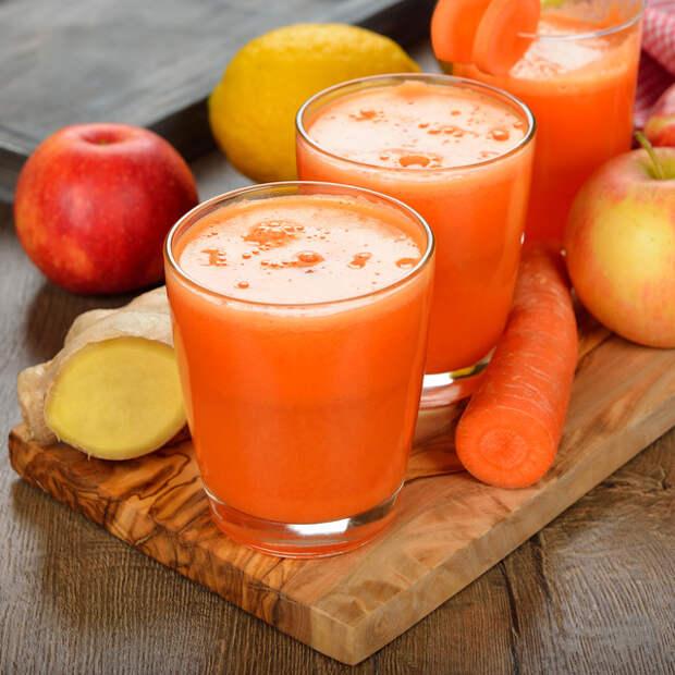 Такой коктейль благотворно влияет на сердце и сосуды, полезен при анемии и диетическом питании