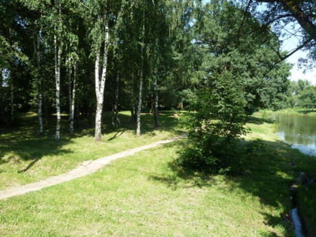 усадьба Троицкое (Мосрентген) сейчас - Место, где стоял усадебный дом