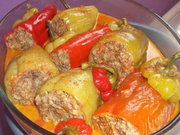 Фаршированные перцы без мяса. Рецепт, который я всегда готовлю с любовью!