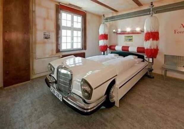 Кровать из автомойки