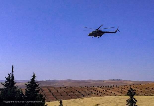 Военные ВС РФ контролируют обстановку в районе объектов армии США в Сирии