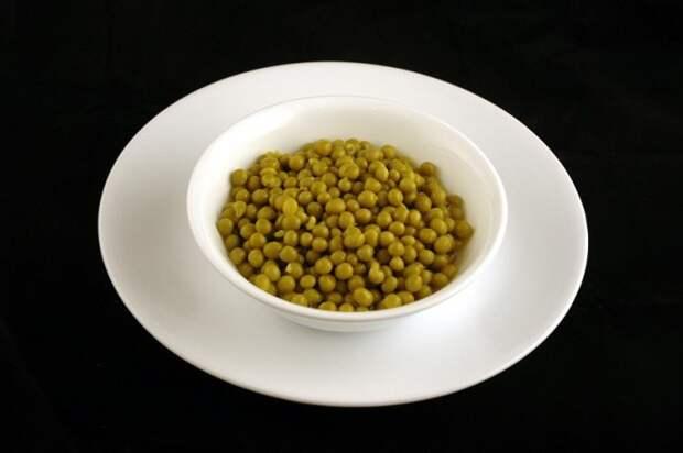 Консервированный горошек — 357 г диета, еда, калории