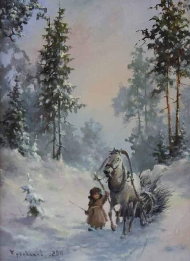 художник Владимир Краевский картины – 72