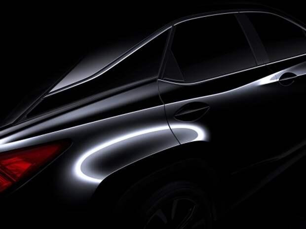 В Нью-Йорке состоится мировая премьера нового поколения Lexus RX