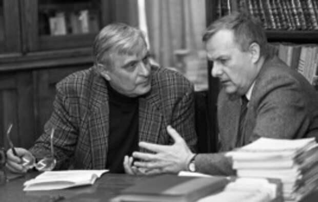 Анатолий Собчак и Олег Басилашвили