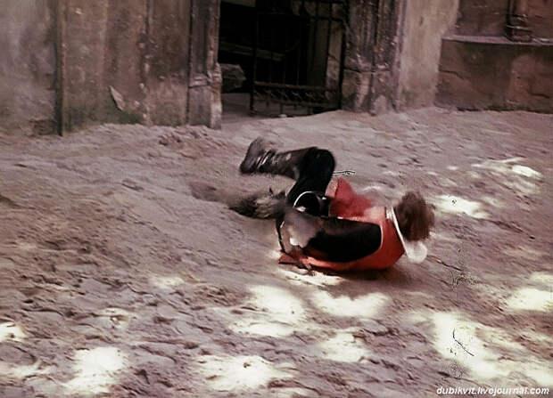 Как снимали трюки для фильма «Д'Артаньян и три мушкетёра». Часть 2