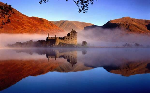 Замок Килхурн, Шотландия.