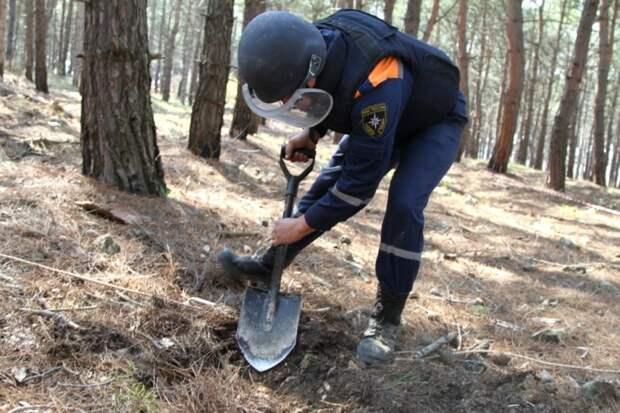 В Севастополе продолжаются поиски взрывоопасных предметов (фото, видео)