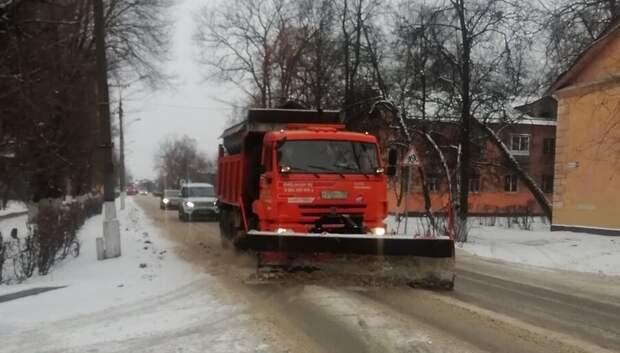 В муниципальный ЦУР Подольска чаще всего жаловались на уборку снега в Климовске