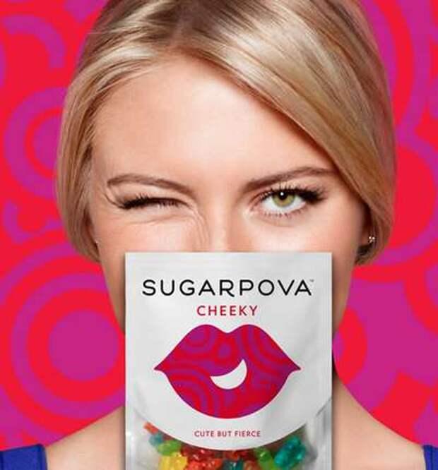 Маше Шараповой досталось за рекламу конфет