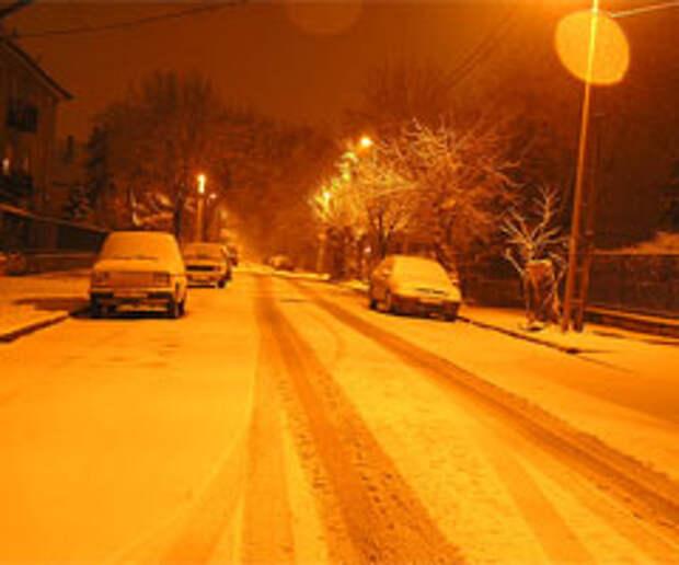 Немного роскоши зимним утром: идея услуги для автостоянки