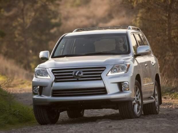 Lexus может избавиться от рамных внедорожников
