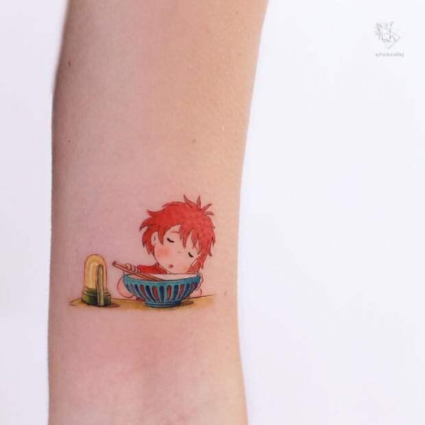 ✨ 14 сказочных цветных татуировок, которые делает мастер из Стамбула