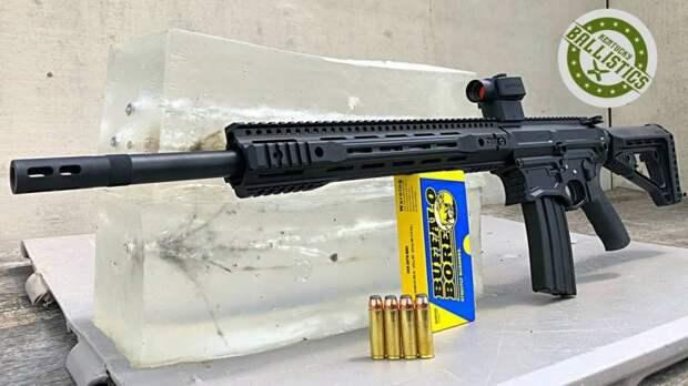 AR-500. Полуавтоматическая винтовка для охоты на слона