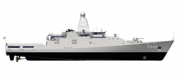 Патрульные корабли типа Holland (Нидерланды)