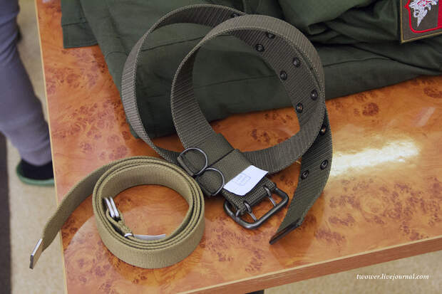 Выдача военной формы одежды. Изменения