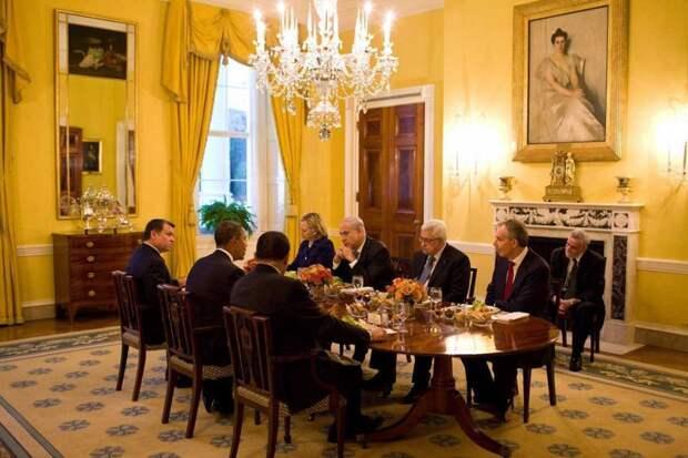 Внутри Белого дома — официальной резиденции президента США