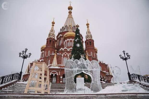 Ледяная чаша с головой Иоанна Крестителя появится в музее воды Ижевска