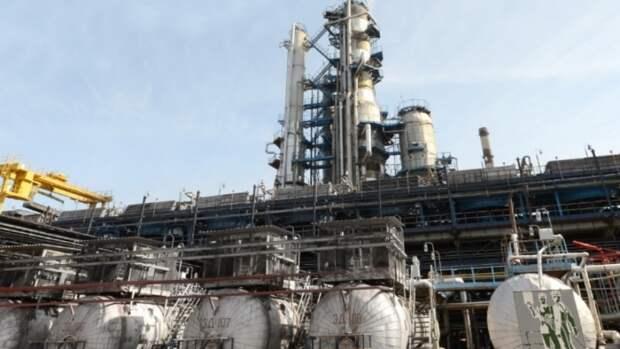 Недавнее возгорание вынудило Мозырский НПЗ сократить переработку нефти