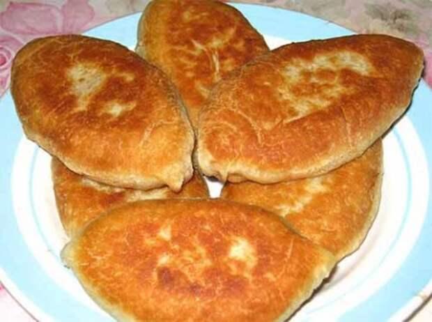 Тесто на рассоле для жареных пирожков