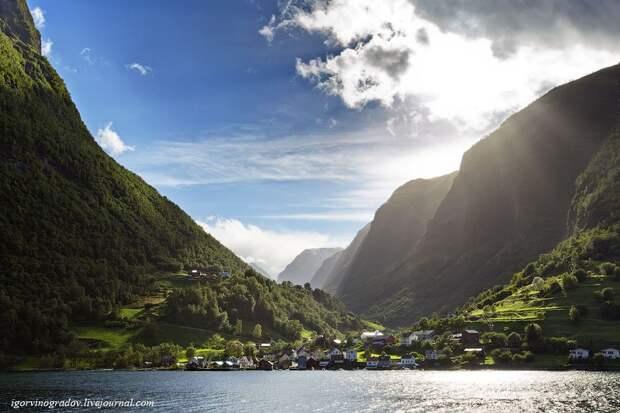 Красота и величие норвежских фьордов