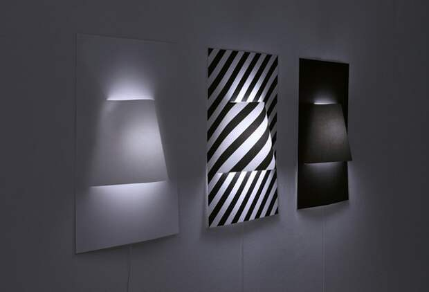 Дизайнерские светильники, японские бумажные светильники, необычный декор
