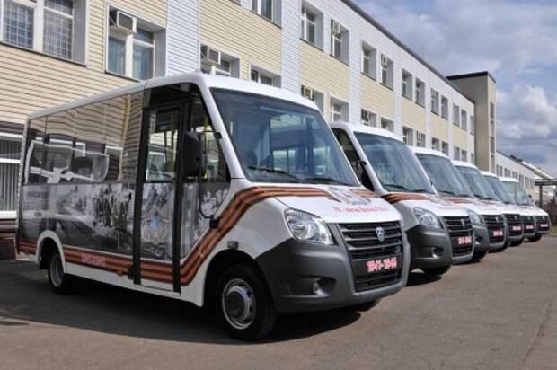 Автобусы для парада