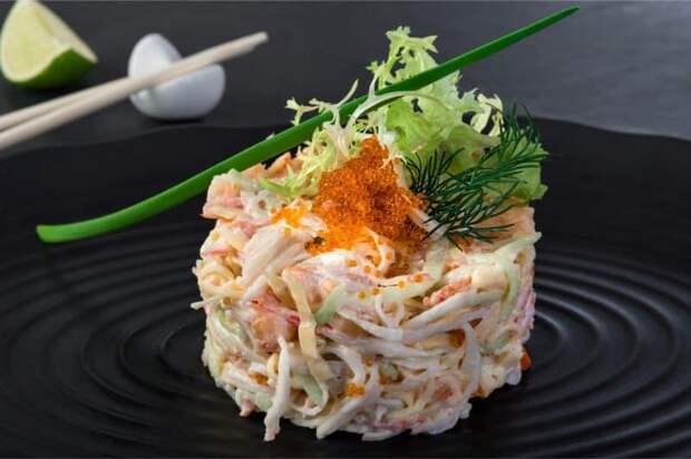 Салат по-калифорнийски. Готовим нестандартно, оригинально, вкусно! 4
