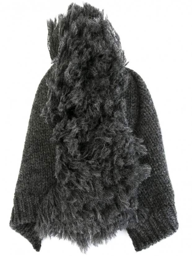 Шапка - бини с ирокезом
