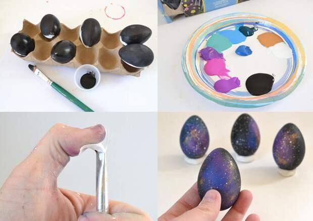 Несколько интересных способов покраски пасхальных яиц пасха, пасхальное яйцо