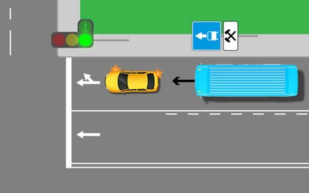 Надо ли уступать автобусу? Проверь себя на знание ПДД
