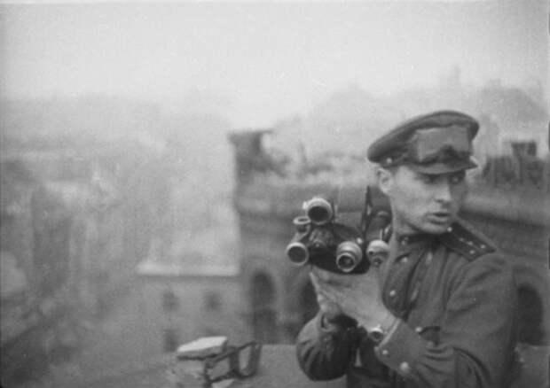 Фронтовые кинооператоры.
